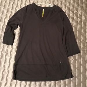 Lole Black Tunic Shirt Size Small
